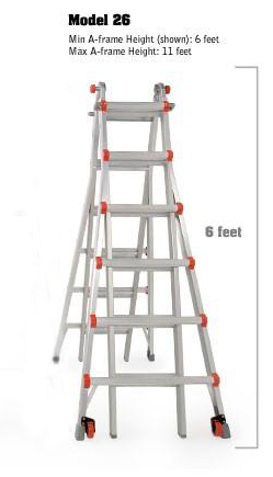 Little Giant Extension / Step Ladder